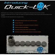 Quick-Lok Pressure Plate Button System